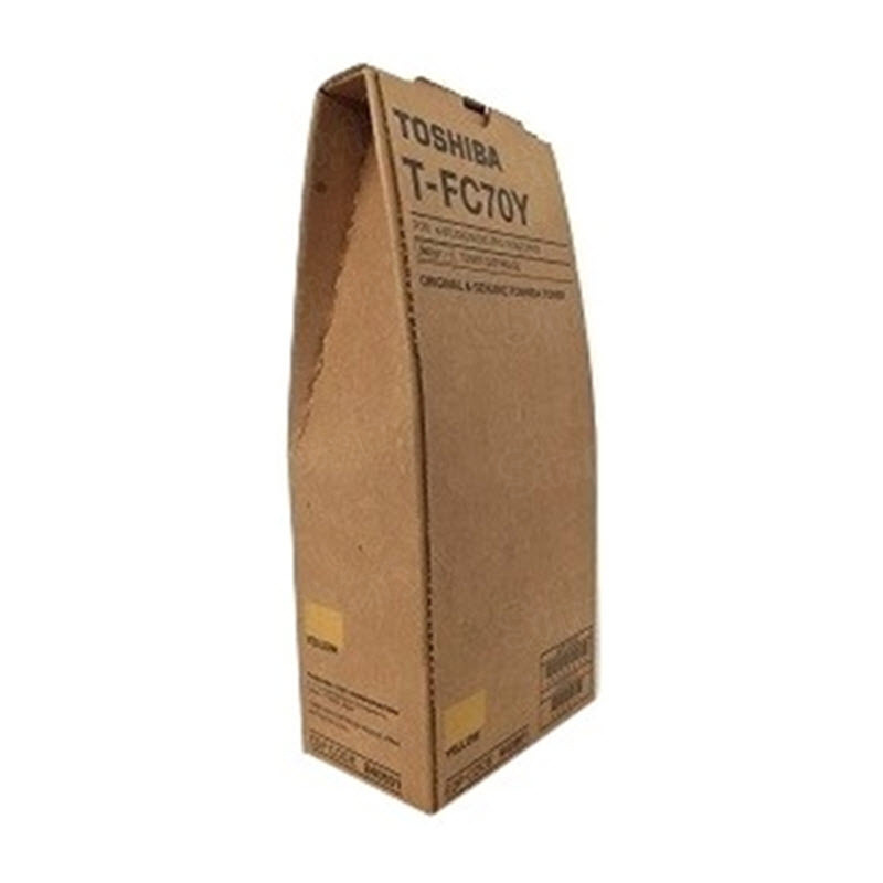 OEM Toshiba 840801 Yellow Toner Cartridge
