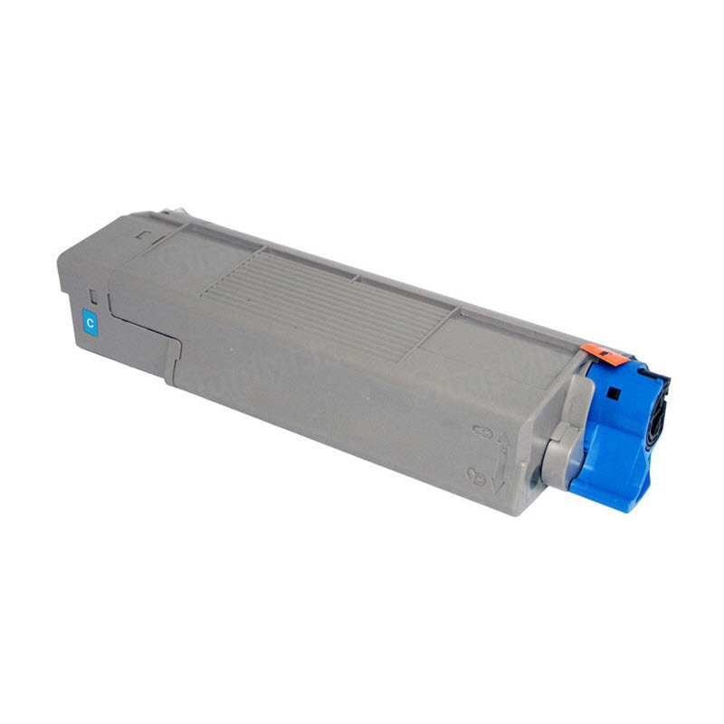 OEM Okidata 43381903 Cyan Toner Cartridge
