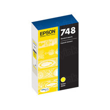 OEM Epson T748420 (748) DURABrite Pro Yellow Ink Cartridge