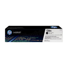 HP 126A (CE310A) Black Original Toner Cartridge in Retail Packaging