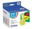 Original Epson 77 OEM Standard Yield Ink Cartridge Color 5-Pack, T077920, C/M/Y/LC/LM
