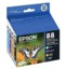 Epson 88 Color OEM Ink Cartridge 4PK