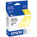 Original Epson T042420 Yellow Inkjet Cartridge (T0424)
