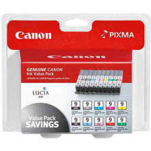 Canon PGI-9 OEM Ink Cartridge 10-Pack, 1033B005
