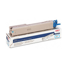 Original High Yield Cyan Laser Toner Cartridge for Okidata 43459303 2K Page Yield