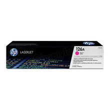 HP 126A (CE313A) Magenta Original Toner Cartridge in Retail Packaging