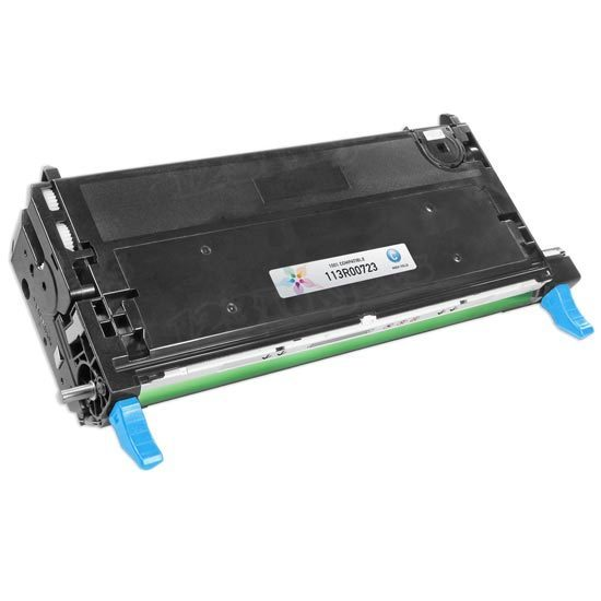 Remanufactured Xerox 113R723 HC Cyan Toner