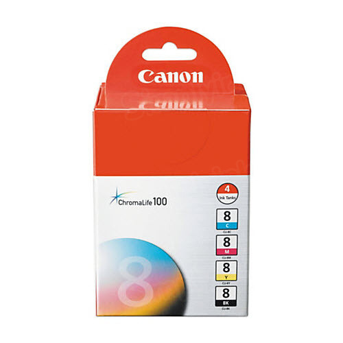 Canon CLI-8 Color OEM Ink Cartridge 4PK
