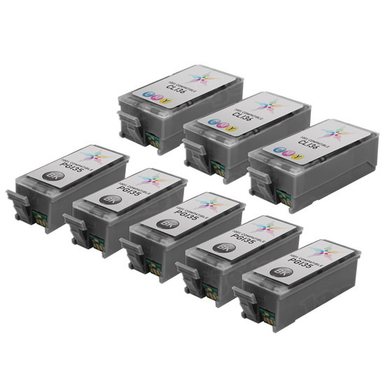Canon Pixma iP100 Compatible Ink Set of 8
