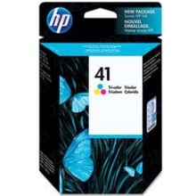 Original HP 41 Tri-Color Ink Cartridge in Retail Packaging (51641A)