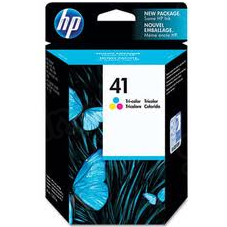 HP 41 Tri-Color Original Ink Cartridge 51641A