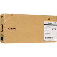 Canon 9820B001 (PFI-707MBK) Matte Black 700ml Ink Cartridge, OEM