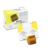 OEM Xerox Phaser 8200 (016204300) Yellow Ink Cartridges (2-Pack)