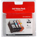 Canon BCI-3e Color OEM Ink Cartridge 4PK