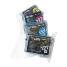 Original Epson 127 OEM Extra High Yield Ink Cartridge Color 4-Pack, T127, B/C/M/Y