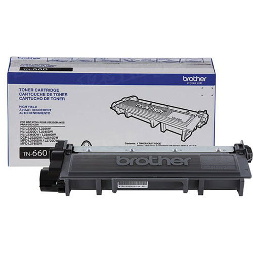 OEM Brother TN660 HY Black Laser Toner