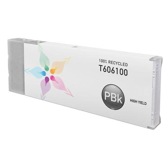 Epson Remanufactured T606100 HY Photo Black Inkjet Cartridge