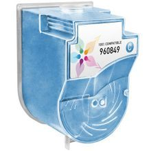 Compatible Konica-Minolta 960849 Cyan Laser Toner Cartridges for the Color Copier 8020, 8031