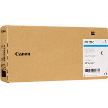 Canon 9822B001 (PFI-707C) Cyan 700ml Ink Cartridge, OEM
