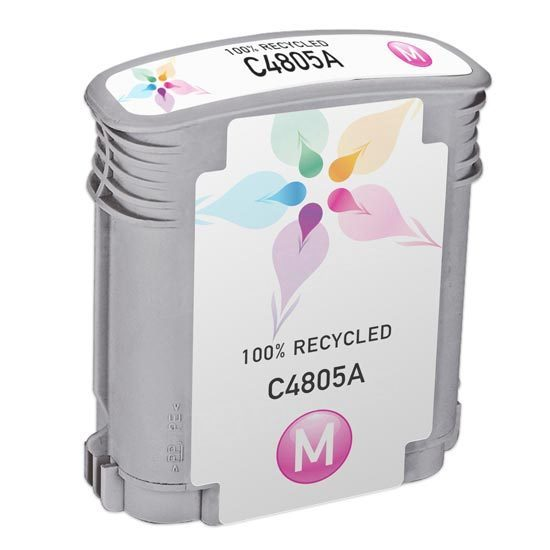 Remanufactured Replacement Magenta Ink for HP 12
