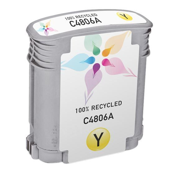 Remanufactured Replacement Yellow Ink for HP 12
