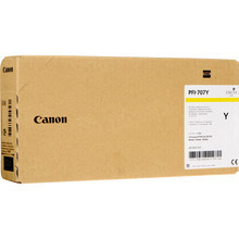 Canon 9824B001 (PFI-707Y) Yellow 700ml Ink Cartridge, OEM