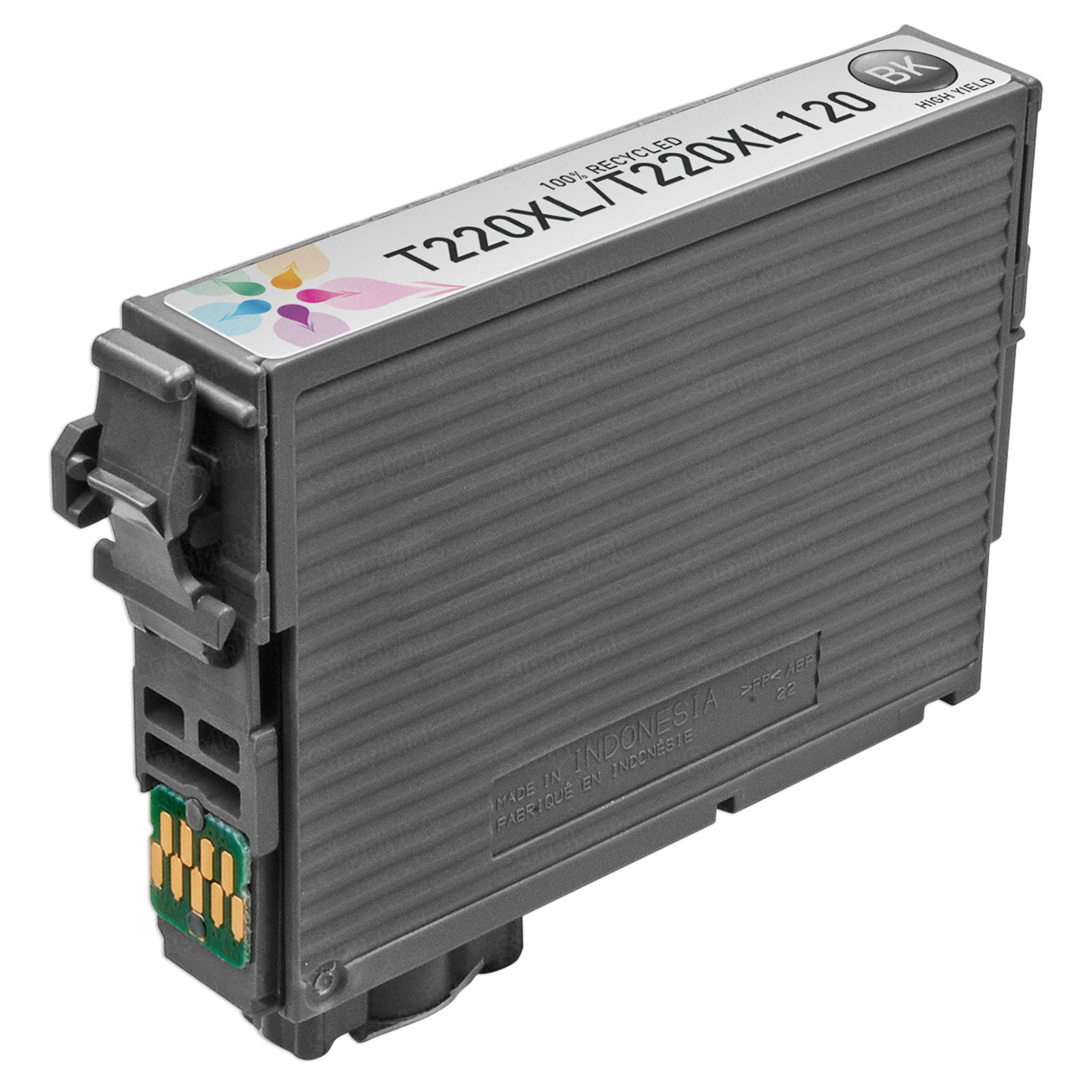 Epson Black Remanufactured 220XL Ink Cartridge