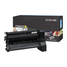Lexmark OEM Yellow Laser Toner Cartridge, C780A2YG (C780dn / C782dn) (6,000 Page Yield)