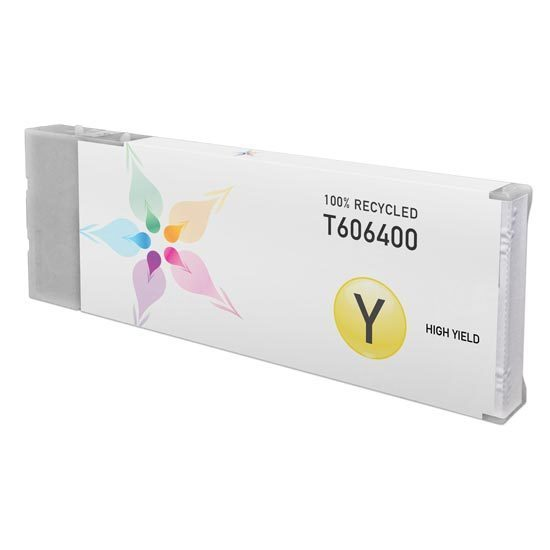 Epson Remanufactured T606400 HY Yellow Inkjet Cartridge