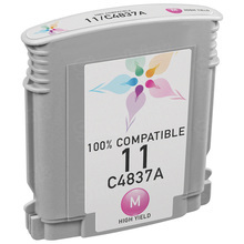 Remanufactured Replacement Ink Cartridge for Hewlett Packard C4837AN (HP 11) Magenta