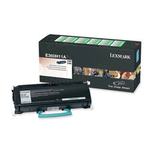 Lexmark OEM High Yield Black Return Program Laser Toner Cartridge, E360H11A (E360/E460/E462 Series) (9K Page Yield)