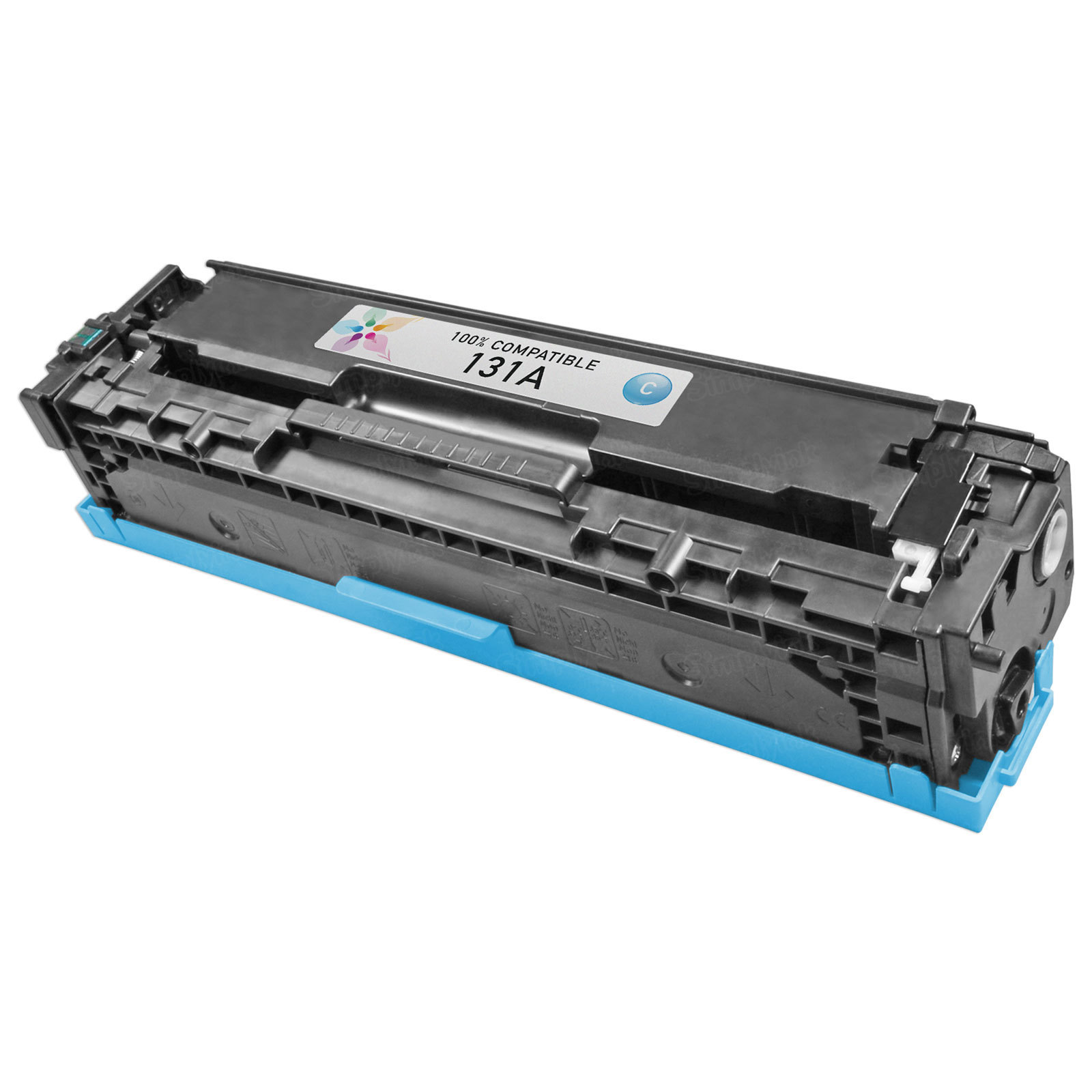 Remanufactured Replacement Cyan Laser Toner for HP 131A