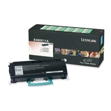 Lexmark OEM Extra High Yield Black Laser Toner Cartridge, E460X11A (E460 Series) (15K Page Yield)