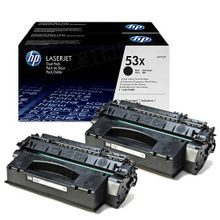 HP 53X (Q7553X) Black Original Toner Cartridge in Retail Packaging