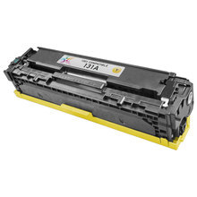 Remanufactured Replacement for HP CF212A (131A) Yellow Laser Toner Cartridge