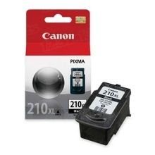 Canon PG-210XL Black OEM High-Yield Ink Cartridge, 2973B001