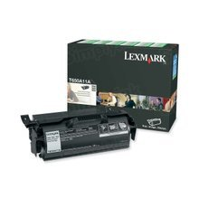 Lexmark OEM Black Laser Toner Cartridge, T650A11A (7K Page Yield)