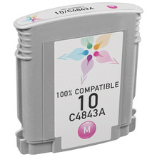 Remanufactured Replacement Ink Cartridge for Hewlett Packard C4843A (HP 10) Magenta