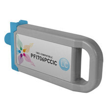 Compatible PFI-706PC Canon (6685B001AA) 700ml Photo Cyan Ink Cartridges