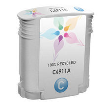 Remanufactured Replacement Ink Cartridge for Hewlett Packard C4911A (HP 82) Cyan