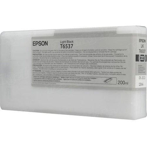 OEM T6537 Light Black ink for Epson