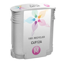 Remanufactured Replacement Ink Cartridge for Hewlett Packard C4912A (HP 82) Magenta
