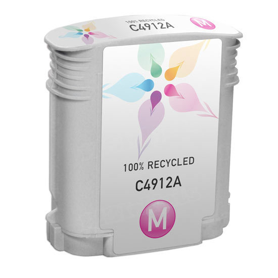 Remanufactured Replacement Magenta Ink for HP 82