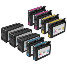 Remanufactured Replacement Bulk Set of 9 for Hewlett Packard (HP 932XL and 933XL) - 3 Black & 2 Each of Cyan, Magenta, Yellow