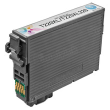 Remanufactured Replacement for Epson T220XL220 (220XL) High Capacity Cyan Ink Cartridge