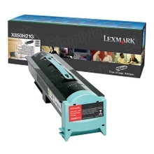 Lexmark OEM Black Laser Toner Cartridge, X850H21G (X850/VE3/VE4/X852/X854) (30K Page Yield)