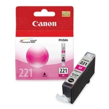 Canon CLI-221M Magenta OEM Ink Cartridge, 2948B001