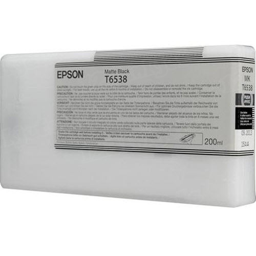 OEM T6538 Matte Black ink for Epson