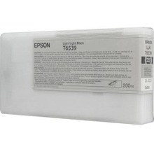 OEM T653900 (T6539) Epson 200ml Light Light Black Ultrachrome HDR Ink Cartridge