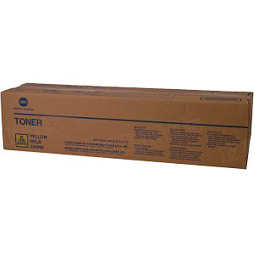 960-891 High Yield Yellow Toner for Konica Minolta